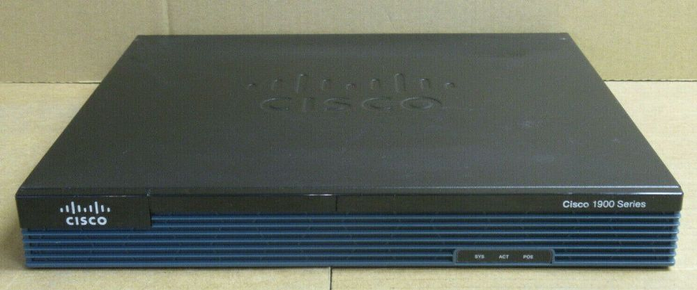 Cisco 1900 Series 1921/K9 Integrated Services Router Modular Network